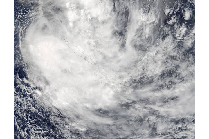 Tropical Cyclone Fehi (08S) over New Caledonia - selected image