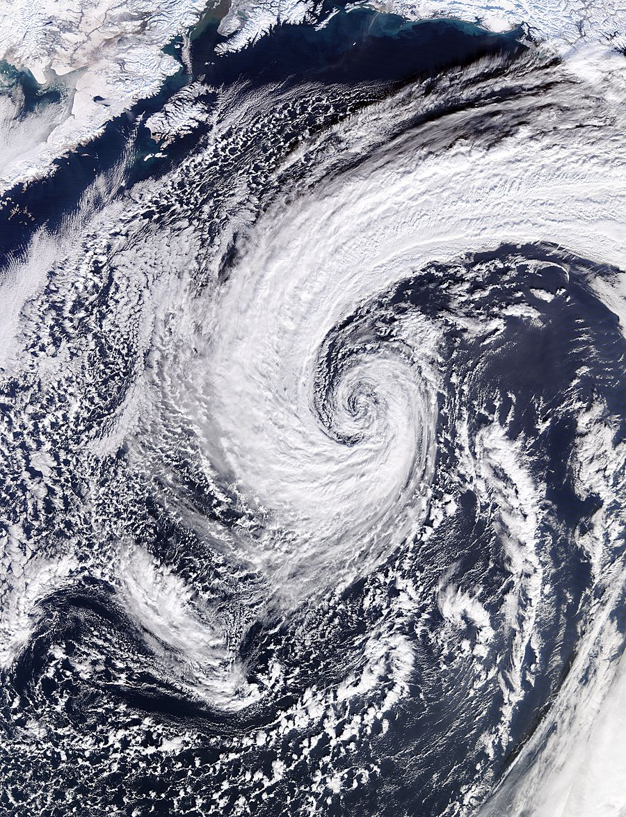Low pressure system in the North Pacific Ocean - related image preview
