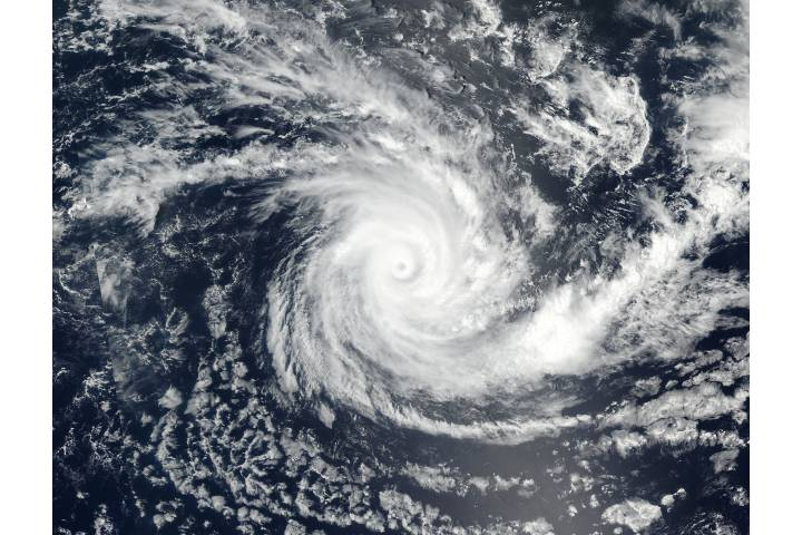 Tropical Cyclone Cebile (07S) in the South Indian Ocean - selected image