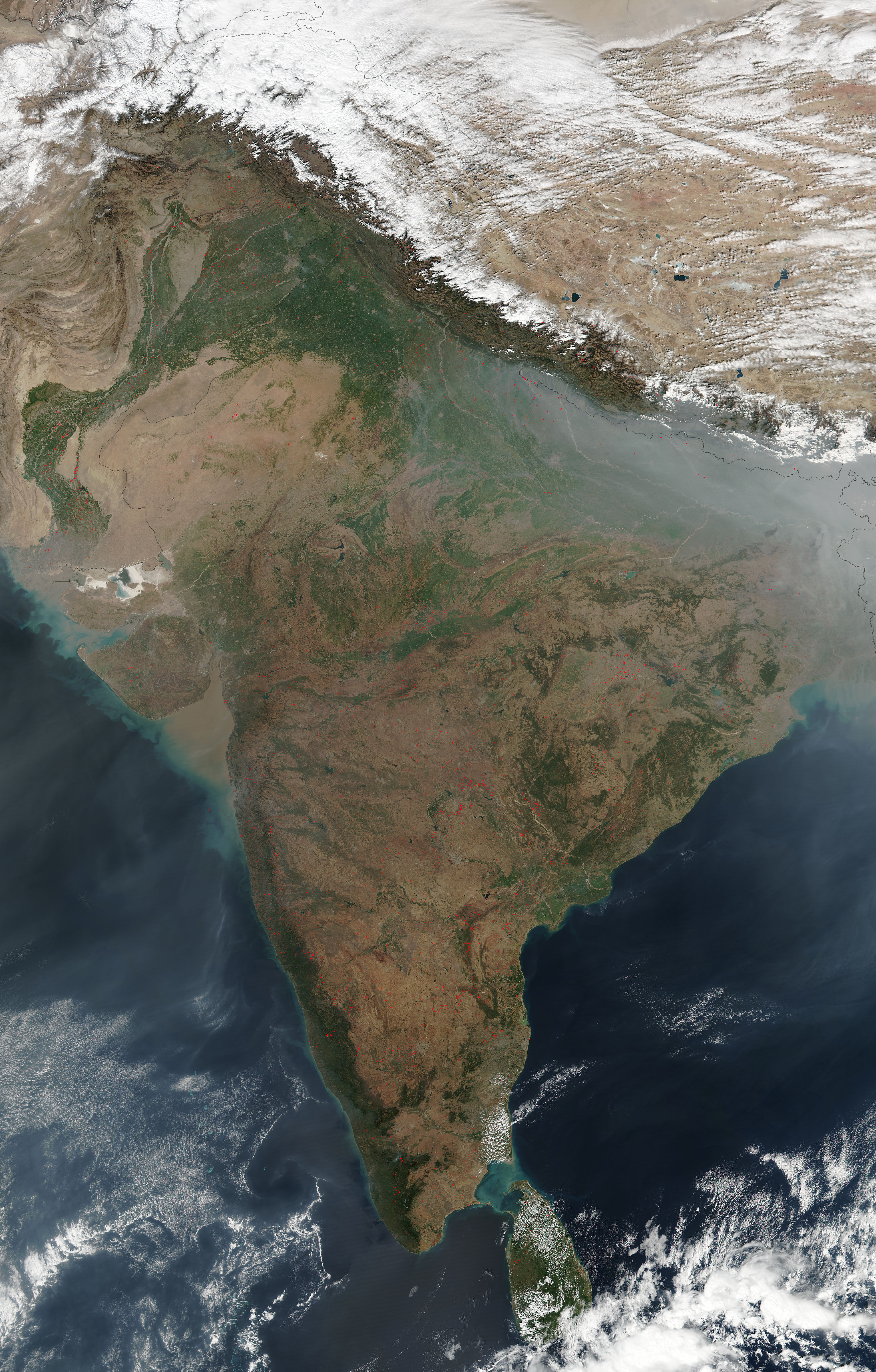 Fires in India - related image preview