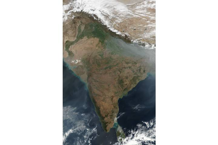 Fires in India - selected image
