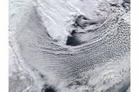 Cloud streets in the Labrador Sea