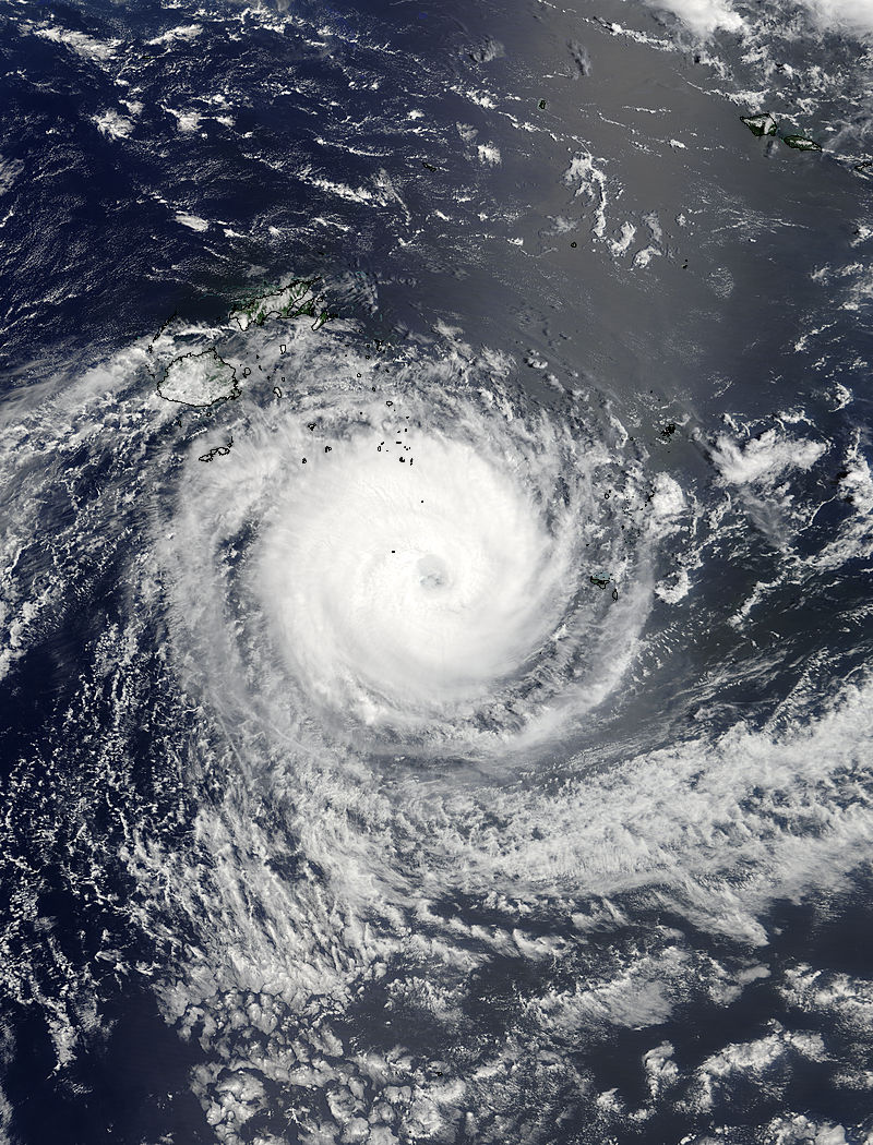 Tropical Cyclone Gita (09P) in the South Pacific Ocean - related image preview