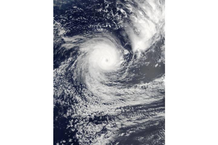 Tropical Cyclone Gita (09P) in the South Pacific Ocean - selected image