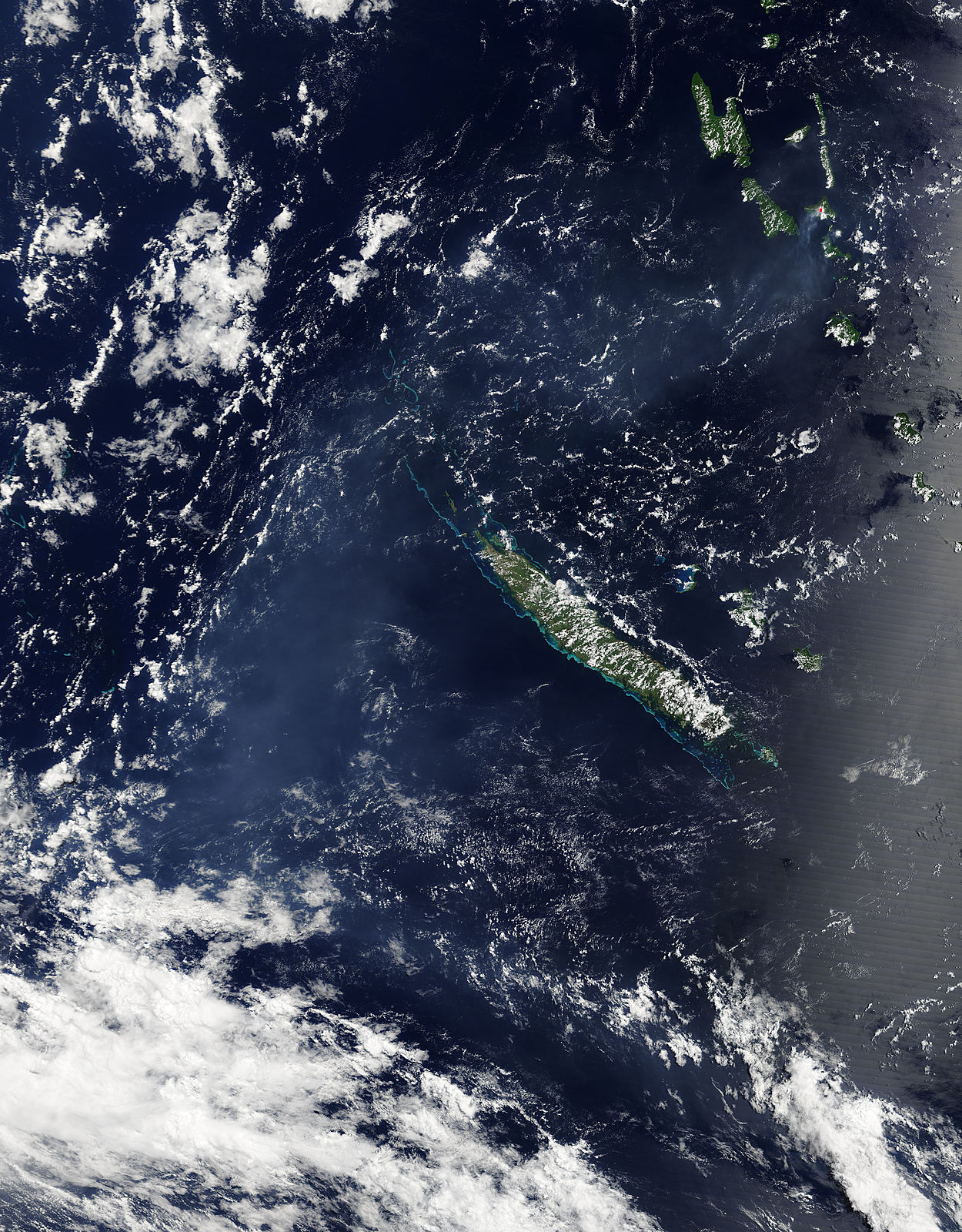 Vog from Ambrym volcano, Vanuatu - related image preview