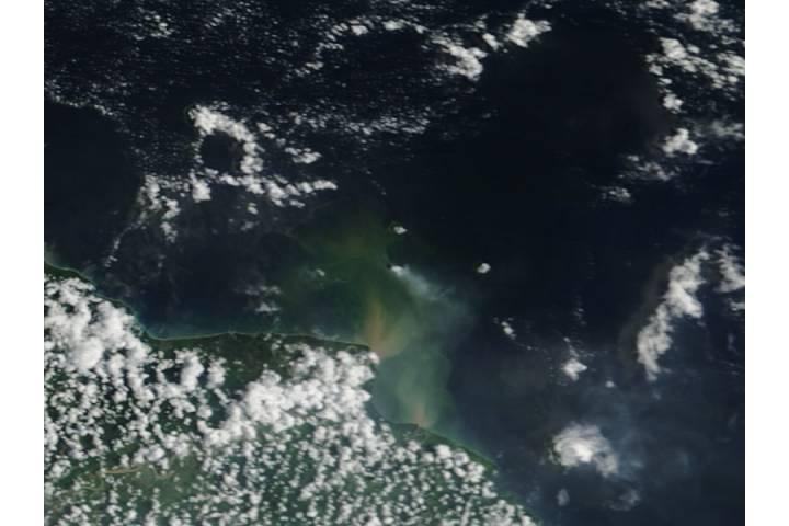 Eruption of Kadovar, Papua New Guinea - selected image