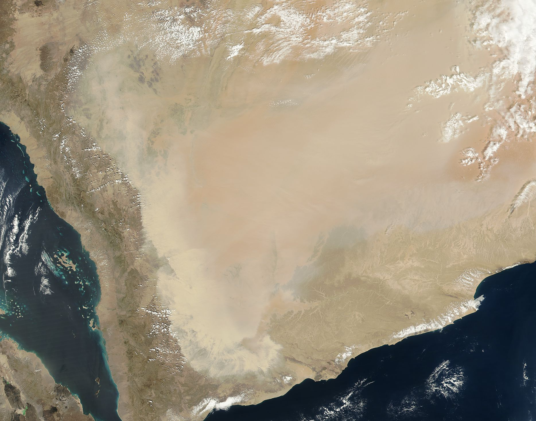 Dust storm in Saudi Arabia - related image preview