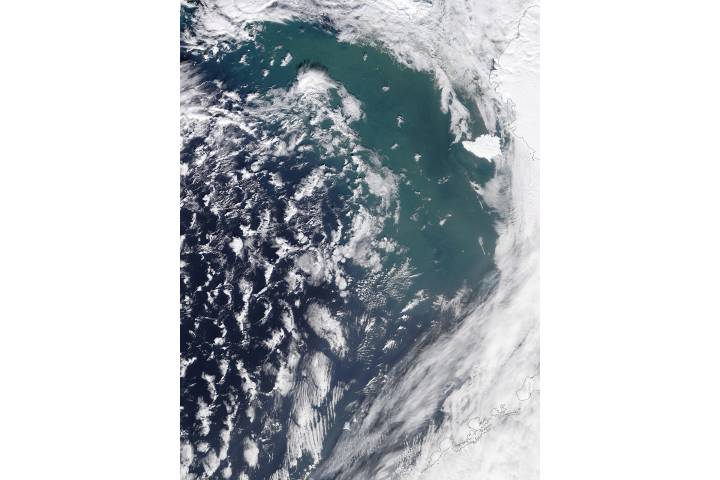 Possible re-suspended sediment in the Bering Sea - selected image