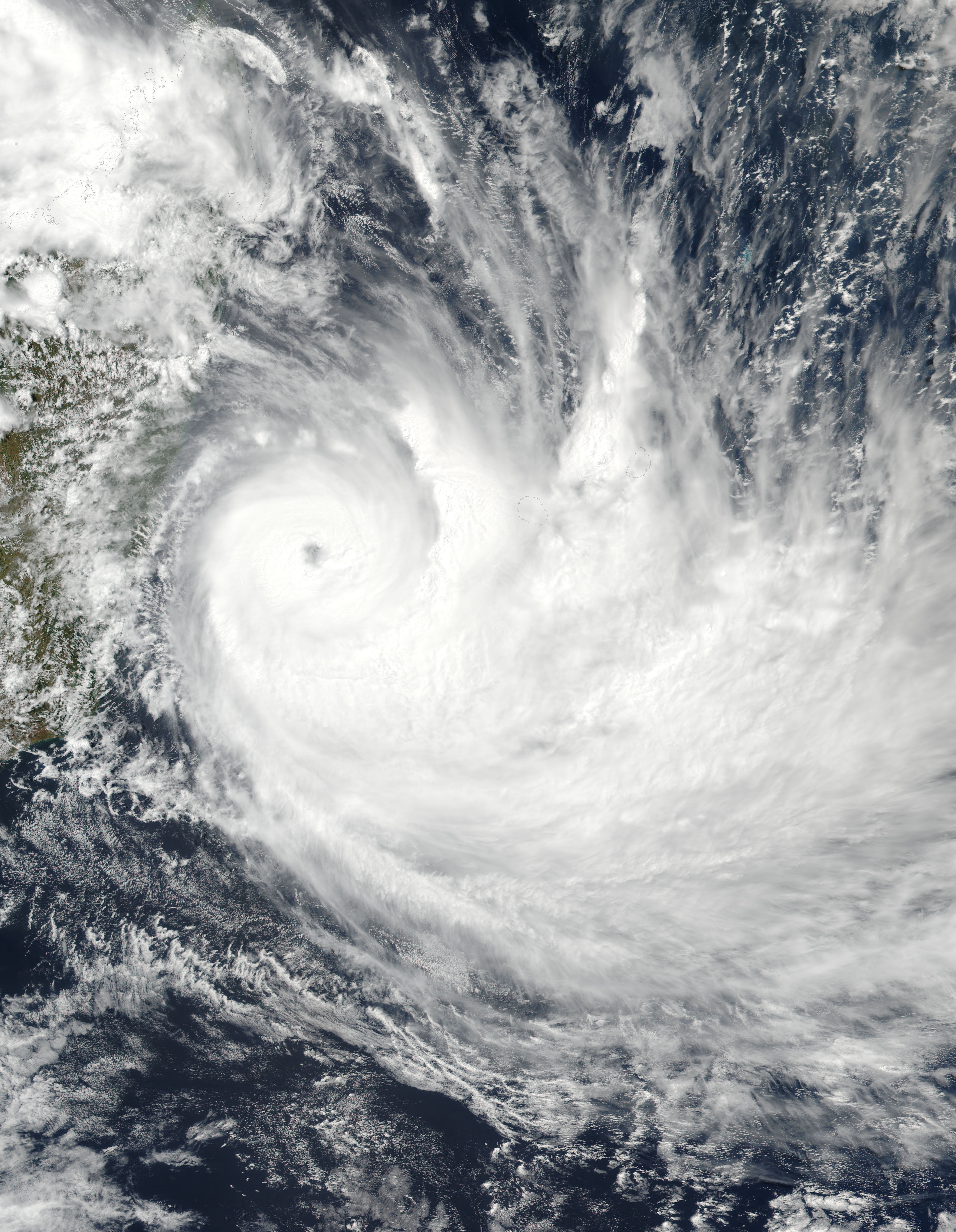 Tropical Cyclone Dumazile (11S) off Madagascar - related image preview