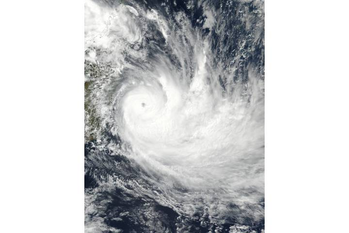Tropical Cyclone Dumazile (11S) off Madagascar - selected image