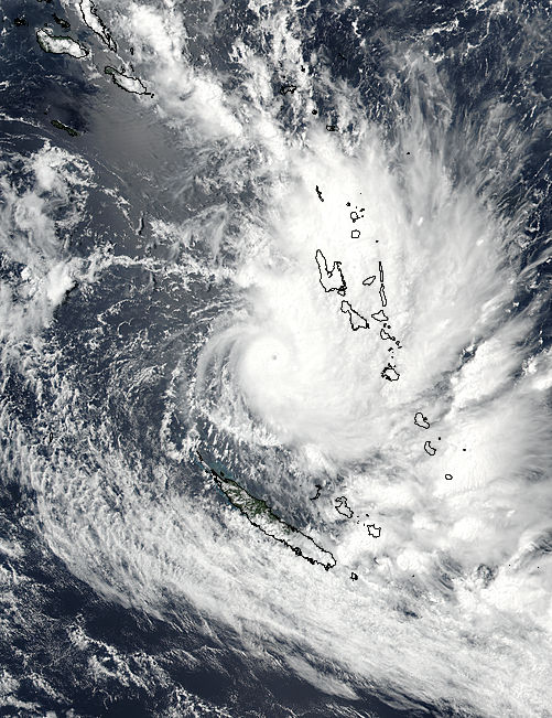 Tropical Cyclone Hola (12P) over Vanuatu - related image preview