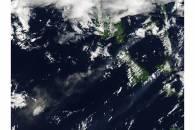 Plume from Aoba volcano, Vanuatu