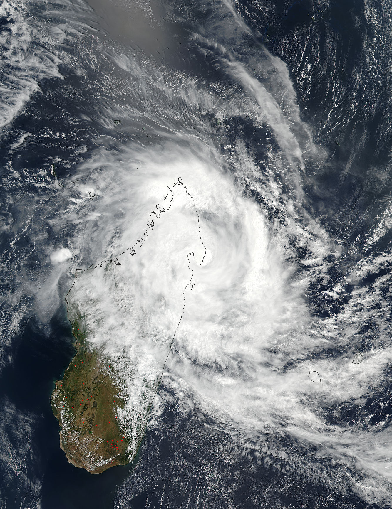 Tropical Cyclone Eliakim (14S) over Madagascar - related image preview