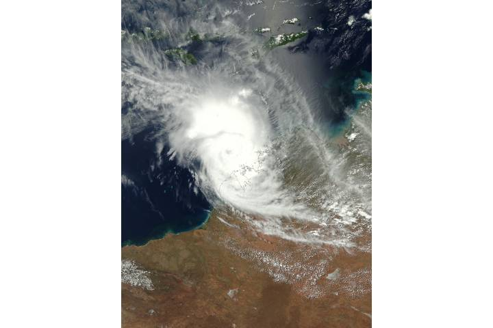 Tropical Cyclone Marcus (15S) off Western Australia - selected image