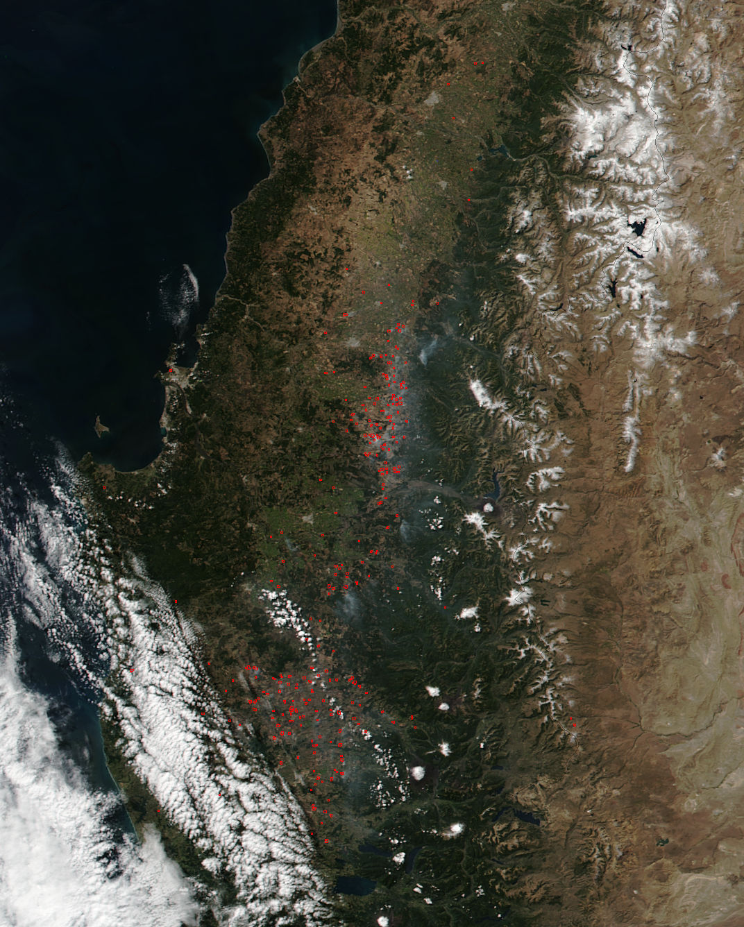 Fires in central Chile - related image preview