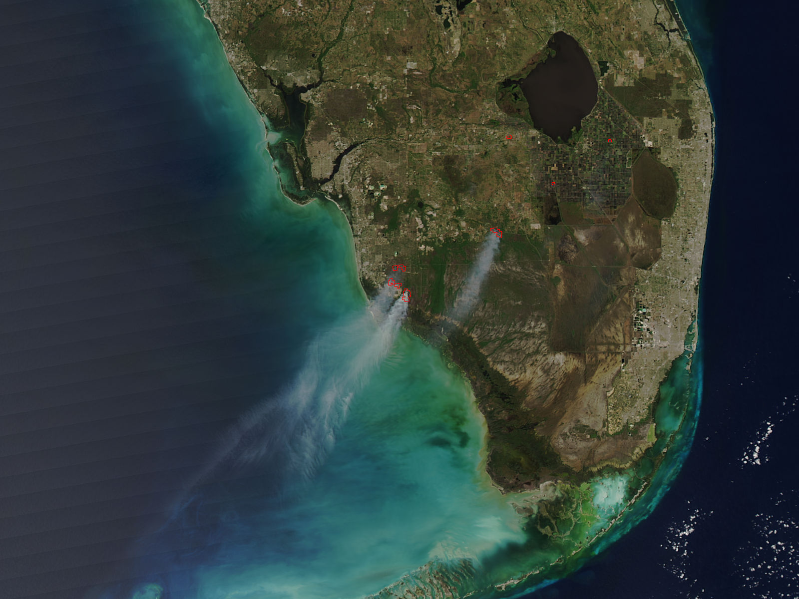 Fires in southern Florida - related image preview