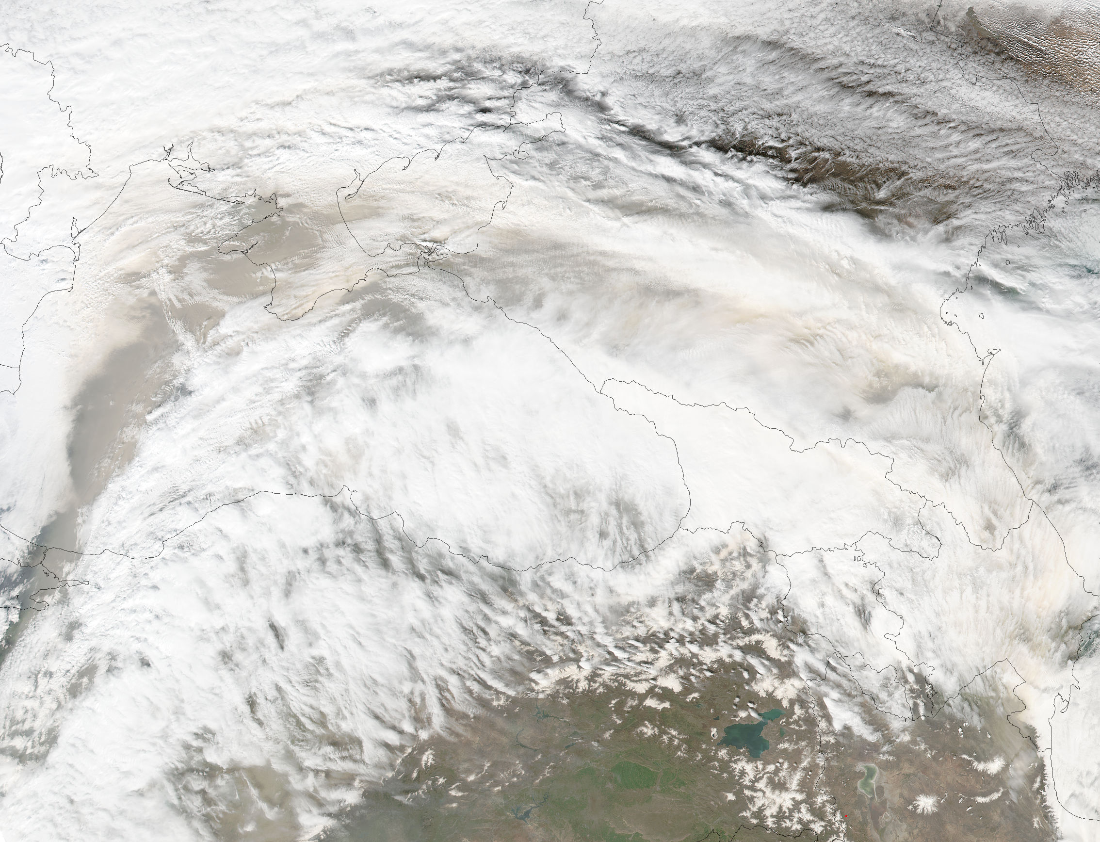 Saharan dust across southeast Europe - related image preview