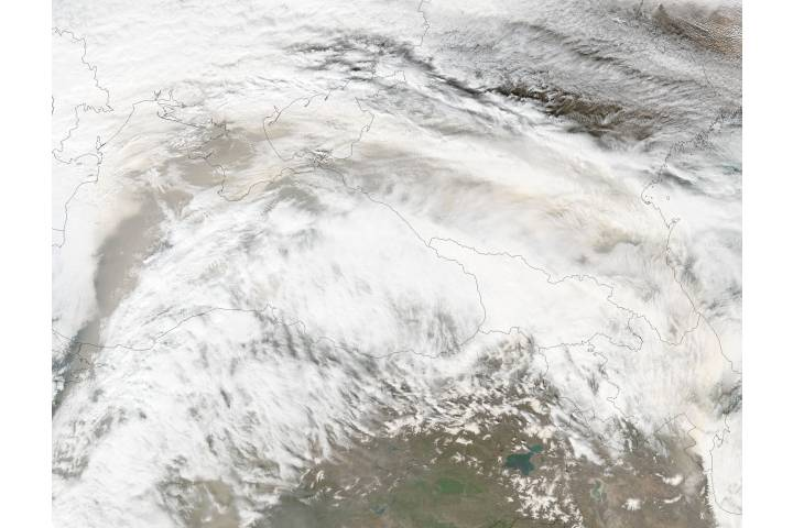 Saharan dust across southeast Europe - selected image