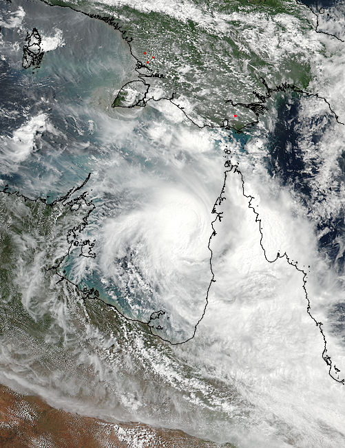Tropical Cyclone Nora (16P) over Australia - related image preview