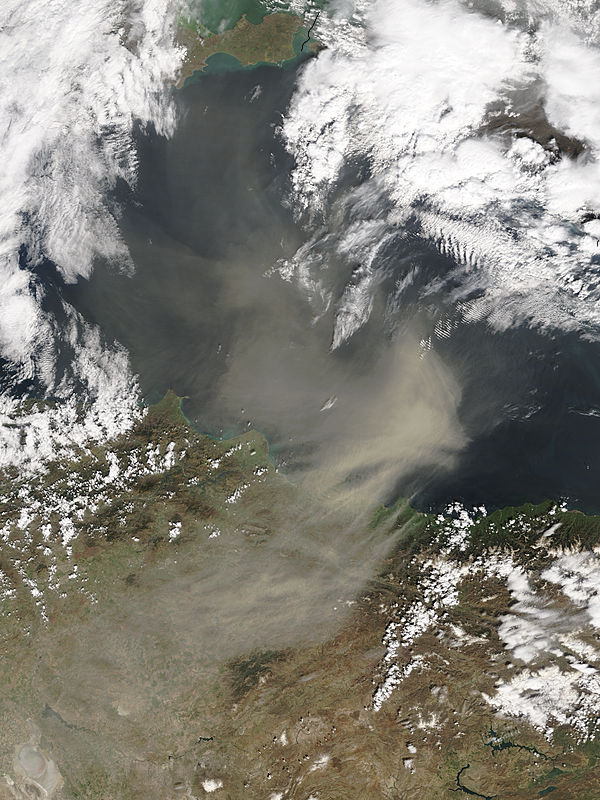 Saharan dust over the Black Sea - related image preview