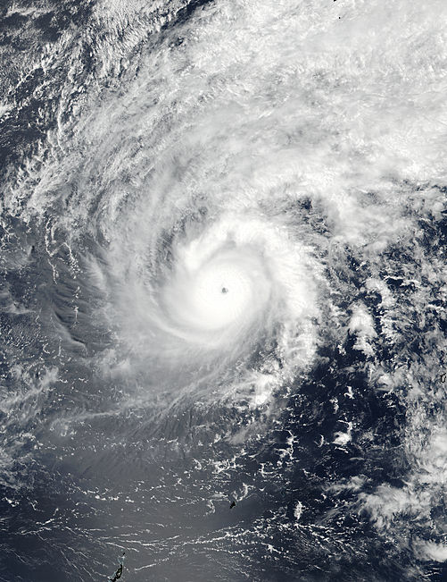 Typhoon Jelawat in the Philippine Sea - related image preview