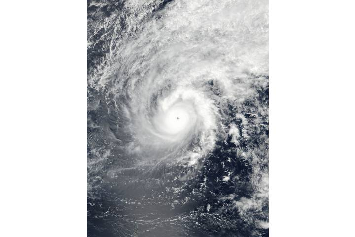 Typhoon Jelawat in the Philippine Sea - selected child image