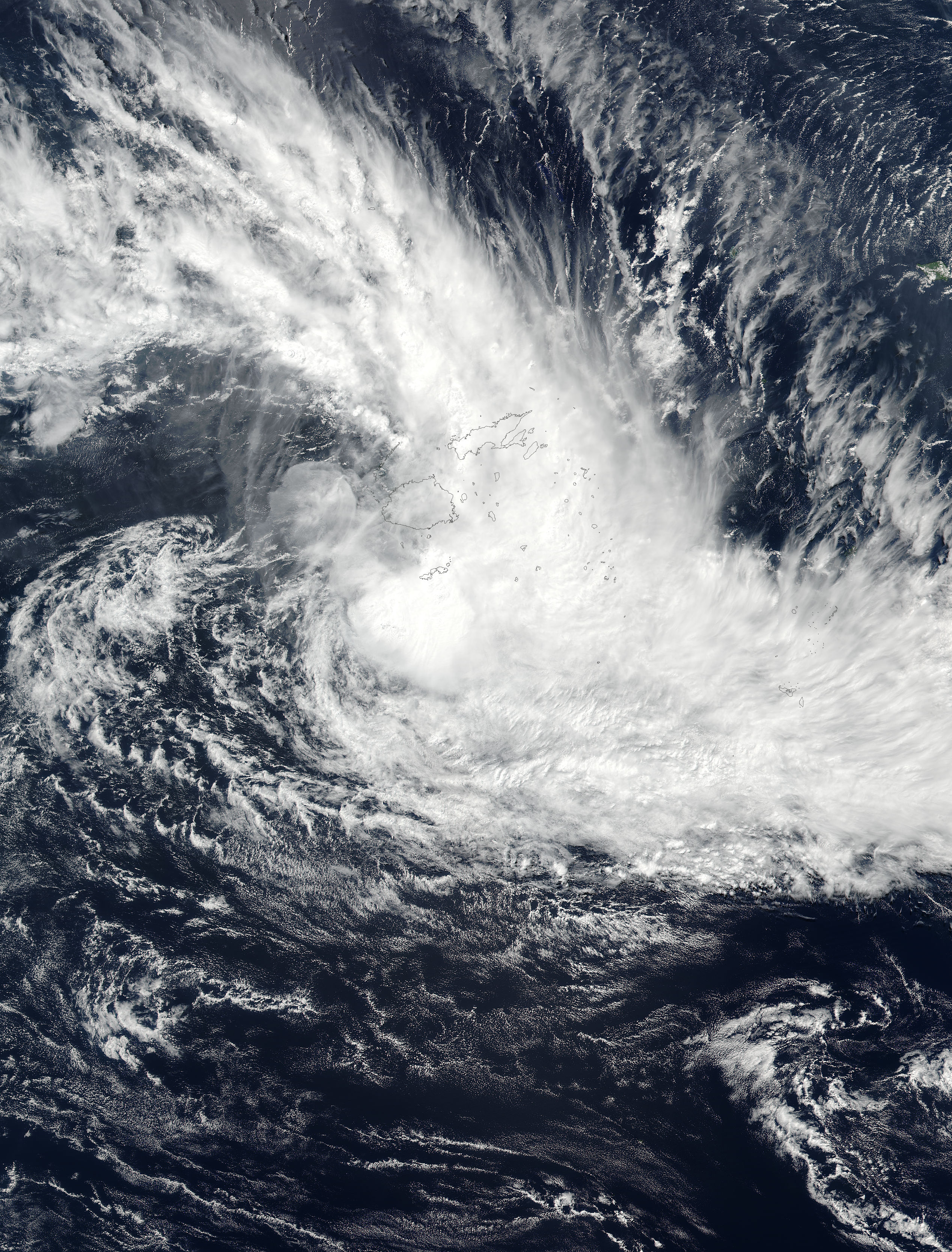 Tropical Cyclone Josie (18P) in the South Pacific Ocean - related image preview
