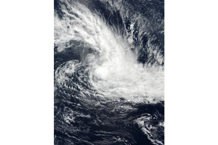 Tropical Cyclone Josie (18P) in the South Pacific Ocean - selected image
