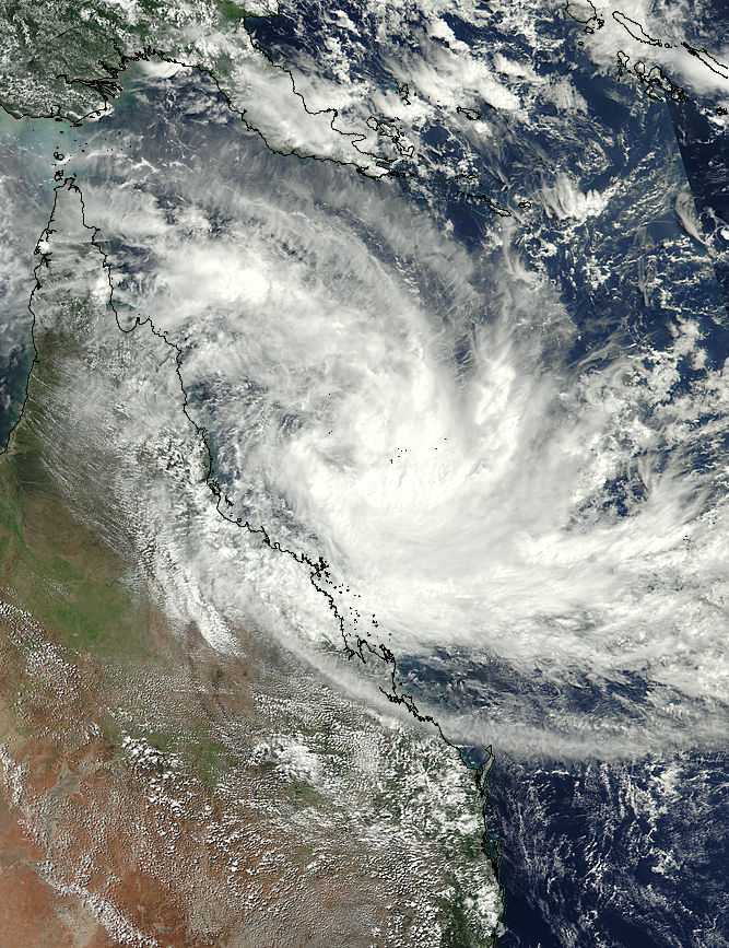 Tropical Cyclone Iris (17P) off Australia - related image preview