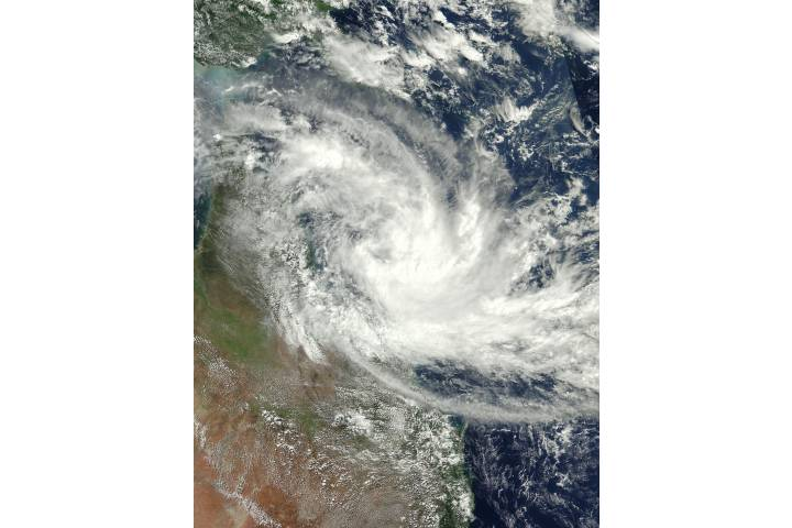 Tropical Cyclone Iris (17P) off Australia - selected image