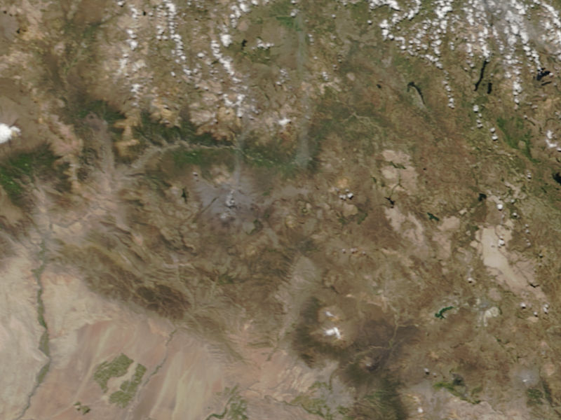 Eruption of Sabancaya, Peru - related image preview