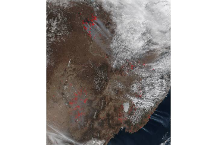 Fires in eastern China and Russia - selected image