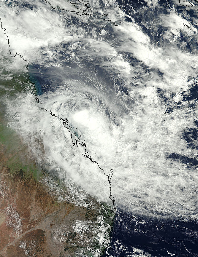 Tropical Cyclone Iris (17P) over Australia - related image preview