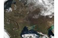 Fires across eastern Europe