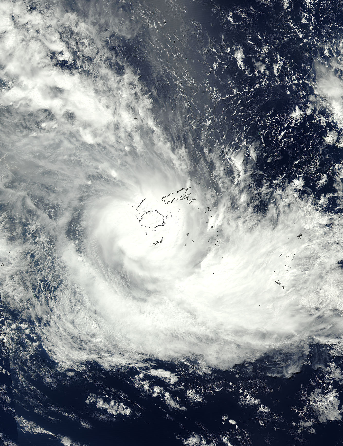 Tropical Cyclone Keni (19P) in the South Pacific Ocean - related image preview