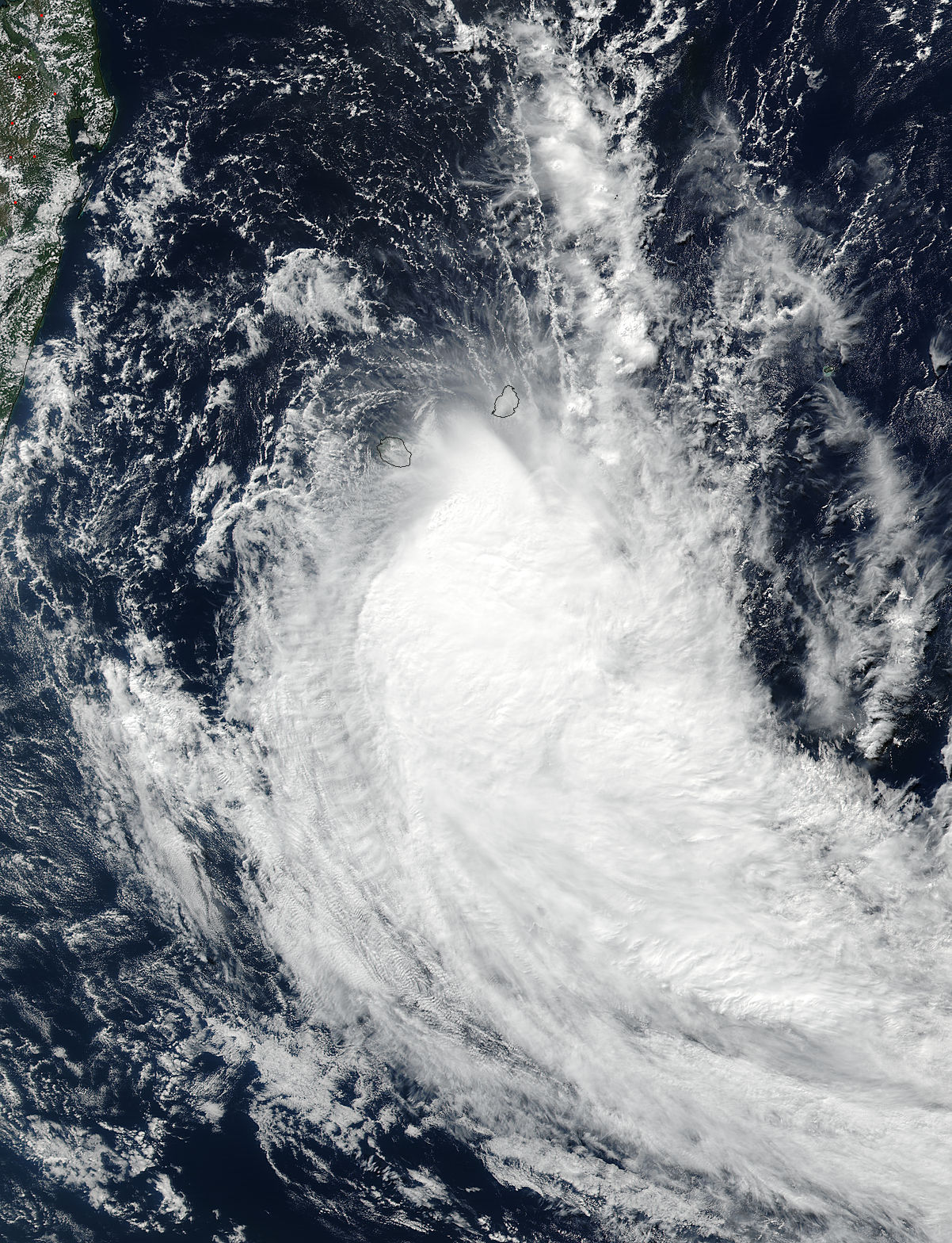 Tropical Cyclone Fakir (20S) in the South Indian Ocean - related image preview