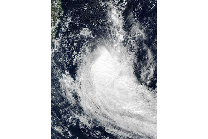 Tropical Cyclone Fakir (20S) in the South Indian Ocean - selected image