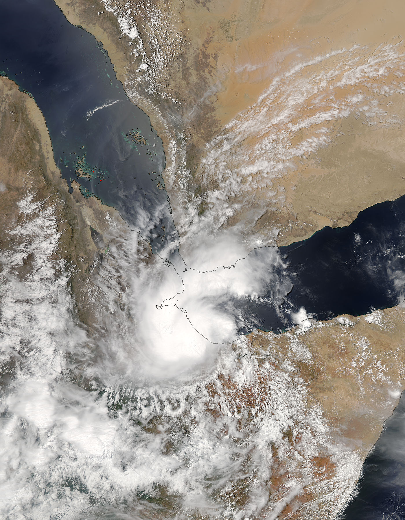 Tropical Cyclone Sagar (01A) over the Horn of Africa - related image preview