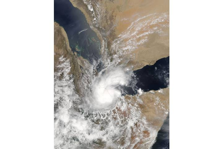 Tropical Cyclone Sagar (01A) over the Horn of Africa - selected image