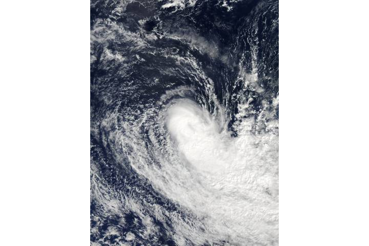 Tropical Cyclone Flamboyan (21S) in the South Indian Ocean - selected image
