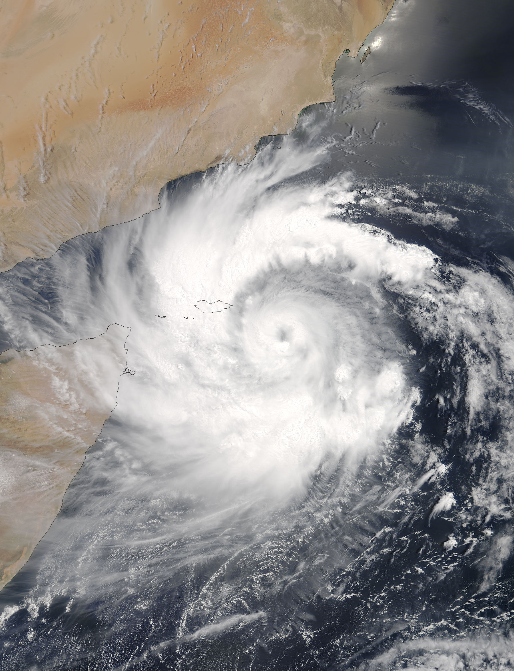 Tropical Cyclone Mekunu (02A) off the Horn of Africa - related image preview