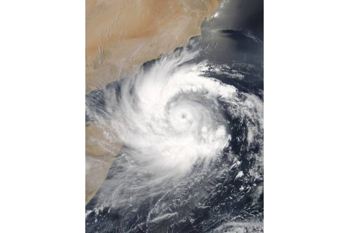 Tropical Cyclone Mekunu (02A) off the Horn of Africa - selected image
