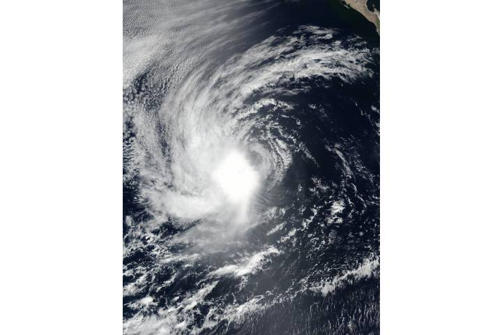 Tropical Storm Emilia (06E) off Mexico - selected image