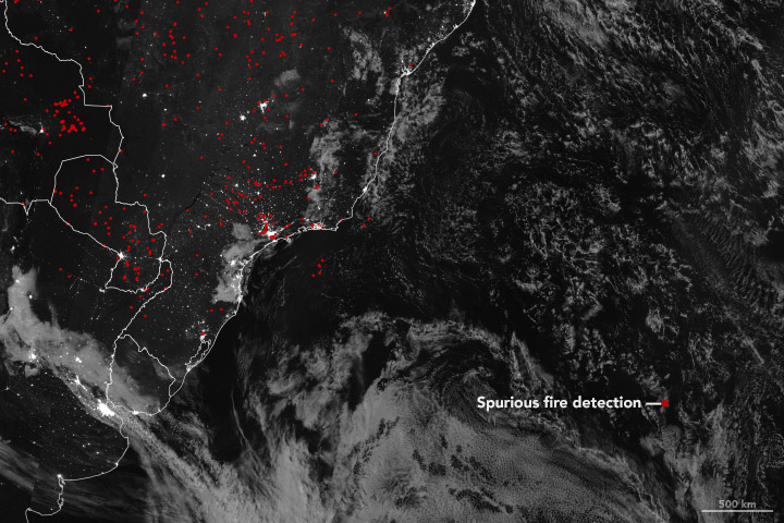 A Fire in the Middle of the Atlantic Ocean? - related image preview
