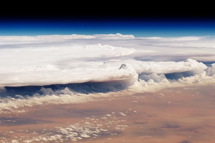 A Dusty View of the Al Qassim Region