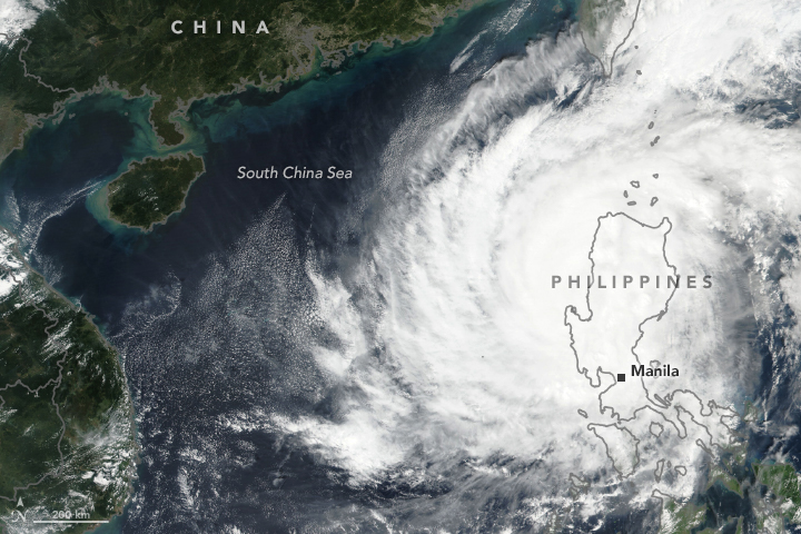 Yutu Hits the Philippines