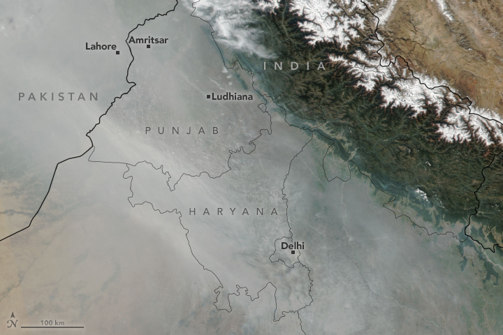 Smokier and Smokier Skies in India