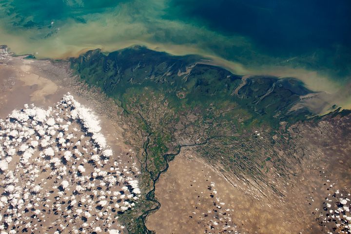 The Largest River Delta in Europe