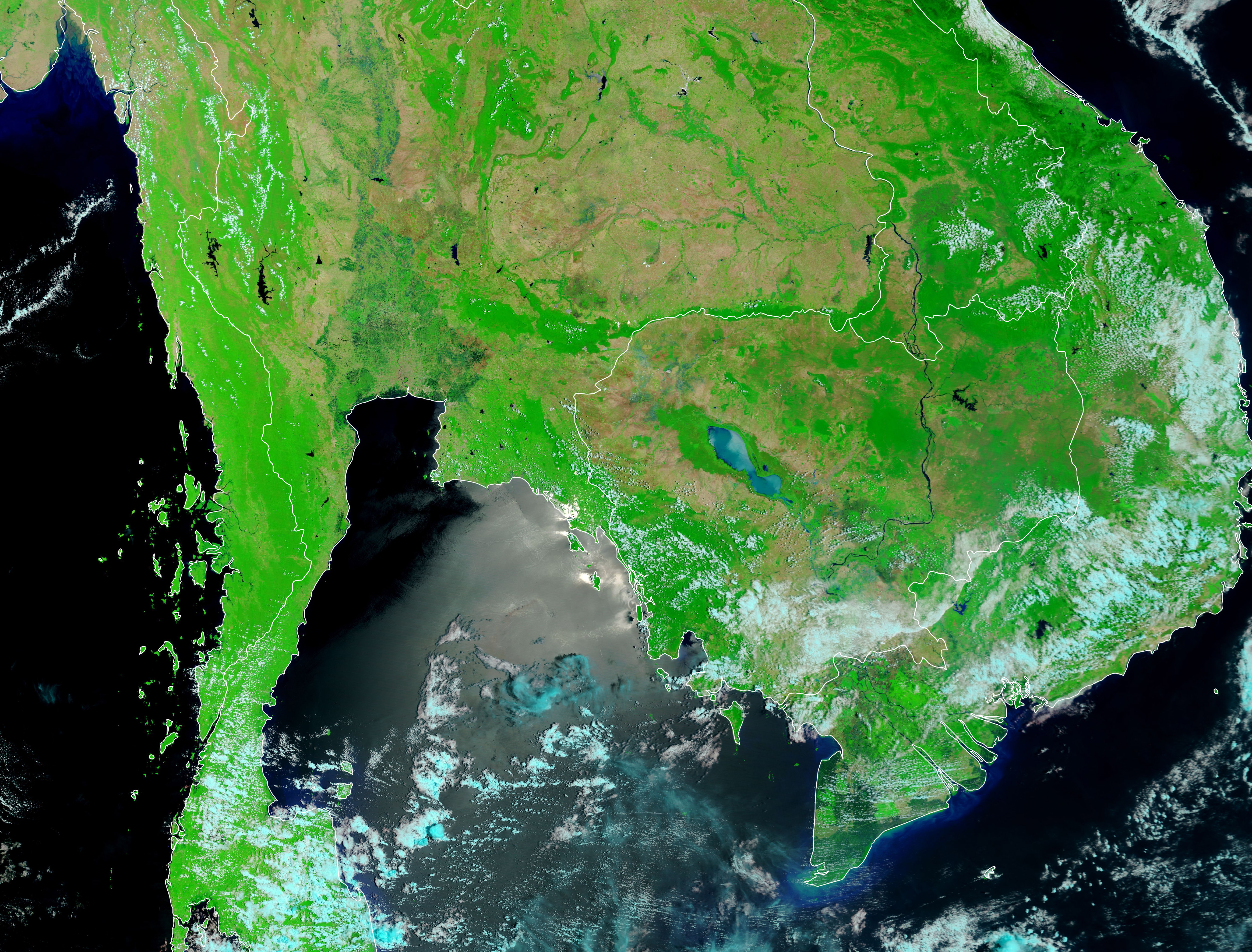 Flooding in Thailand and Cambodia - related image preview
