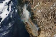 Smoke from Camp Fire Billows Across California